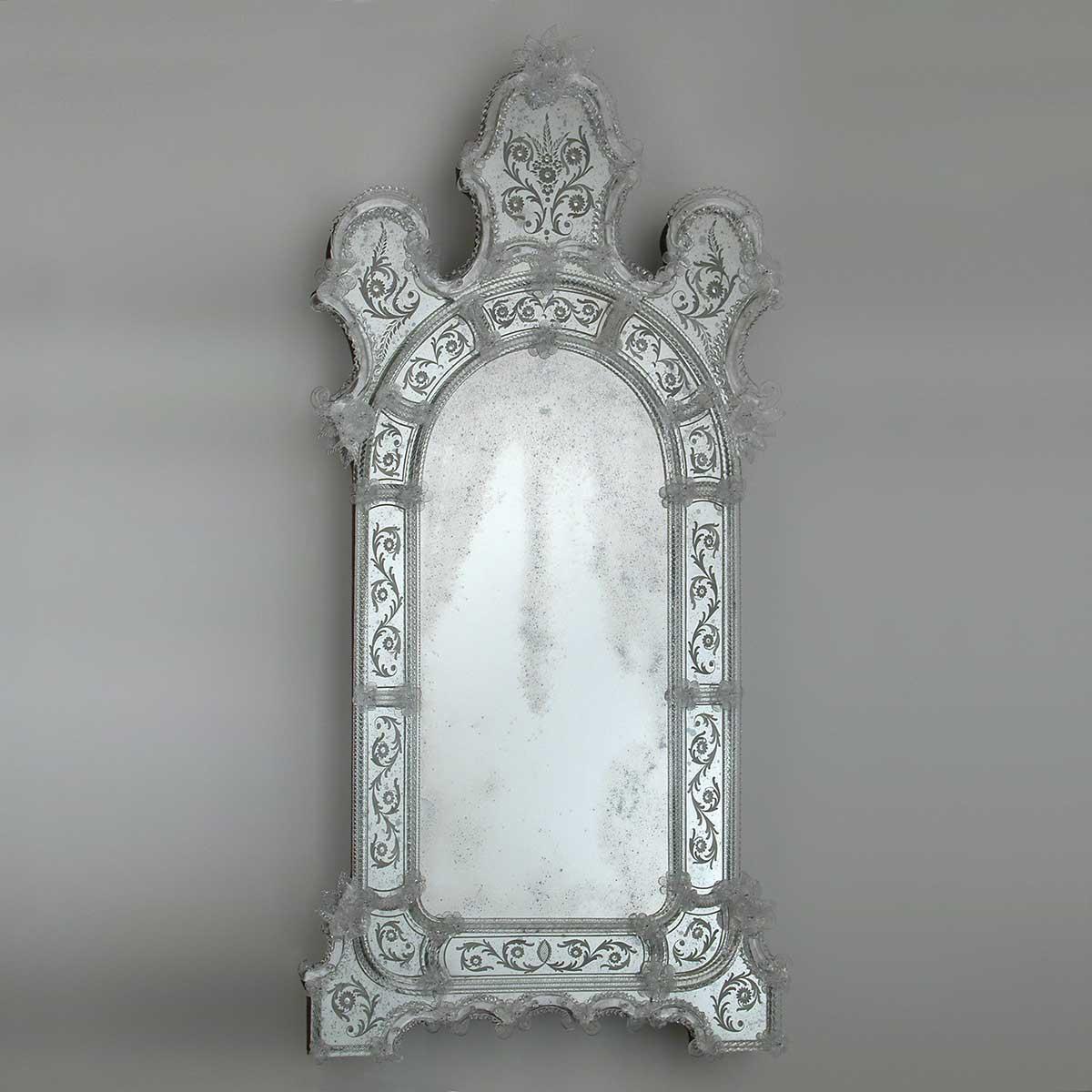 """""""Vanna """" Murano glass venetian mirror"""