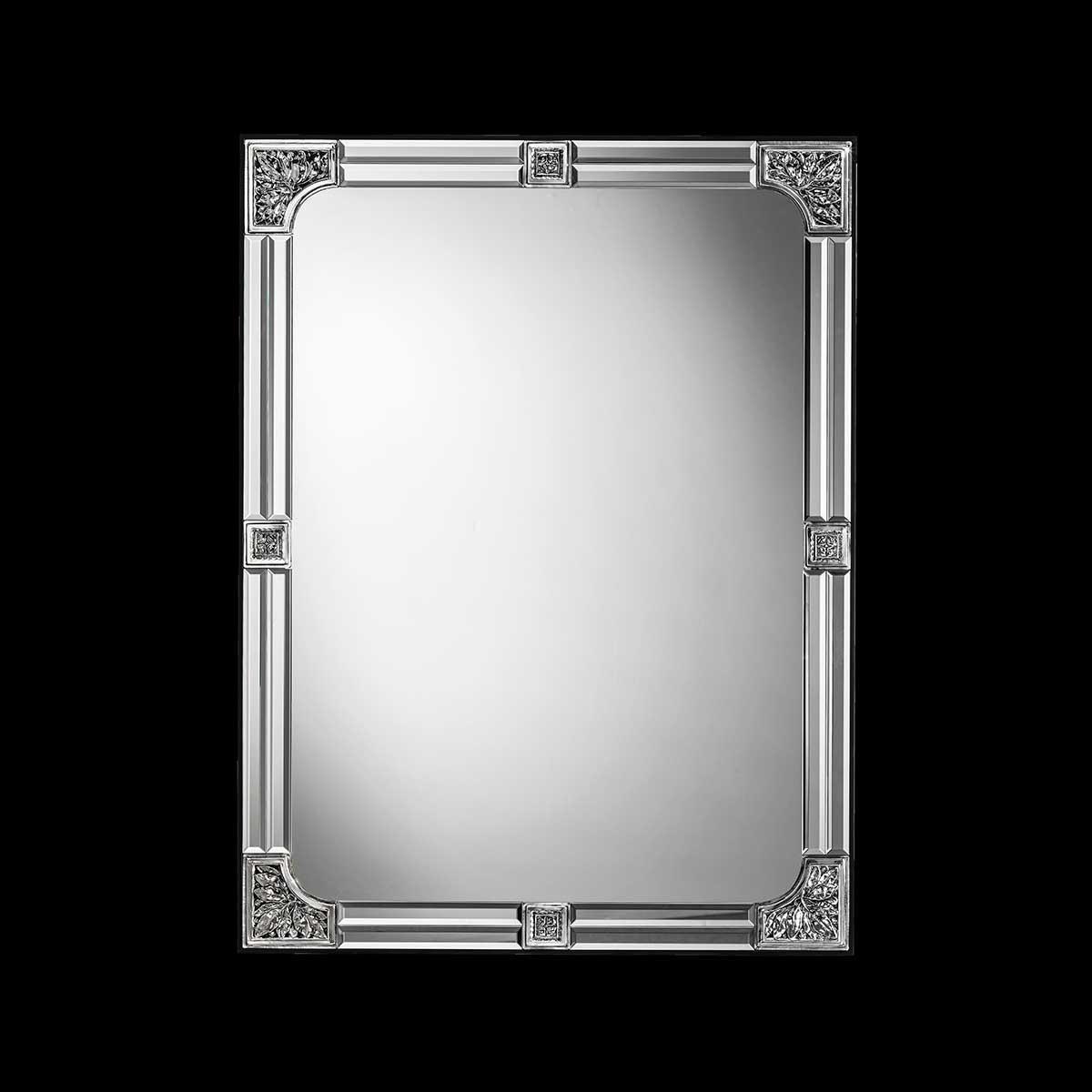 """""""Tecla """" miroir vénitien en verre de Murano"""