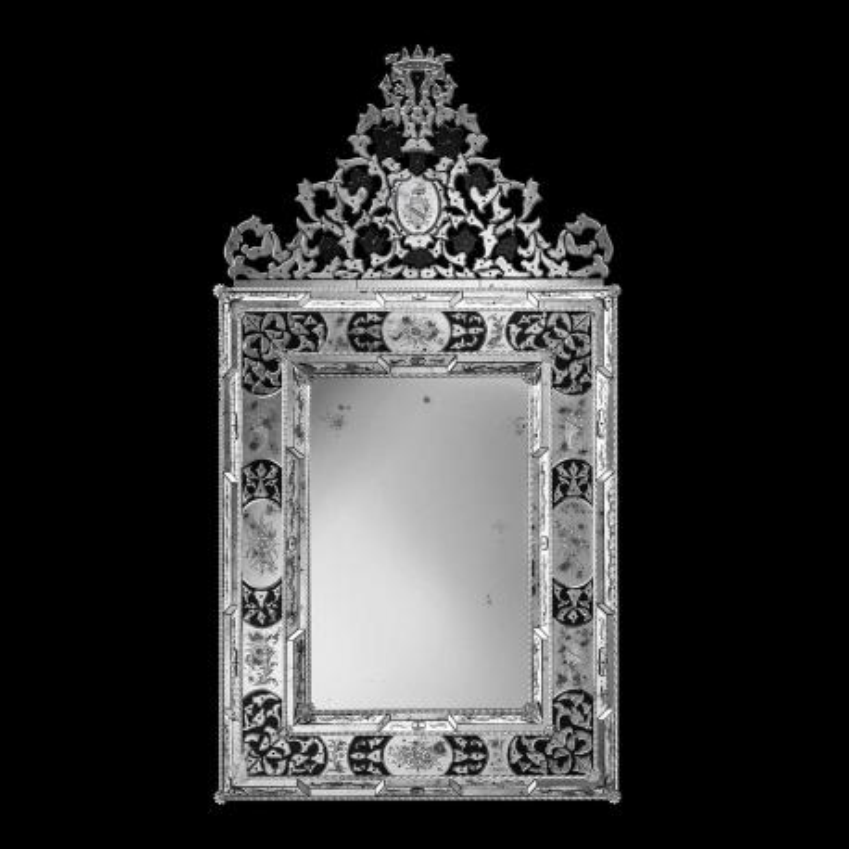 """""""Vincenza """" Murano glas venezianischen spiegel"""