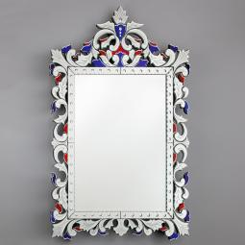 """Francesca "" Murano glass venetian mirror"