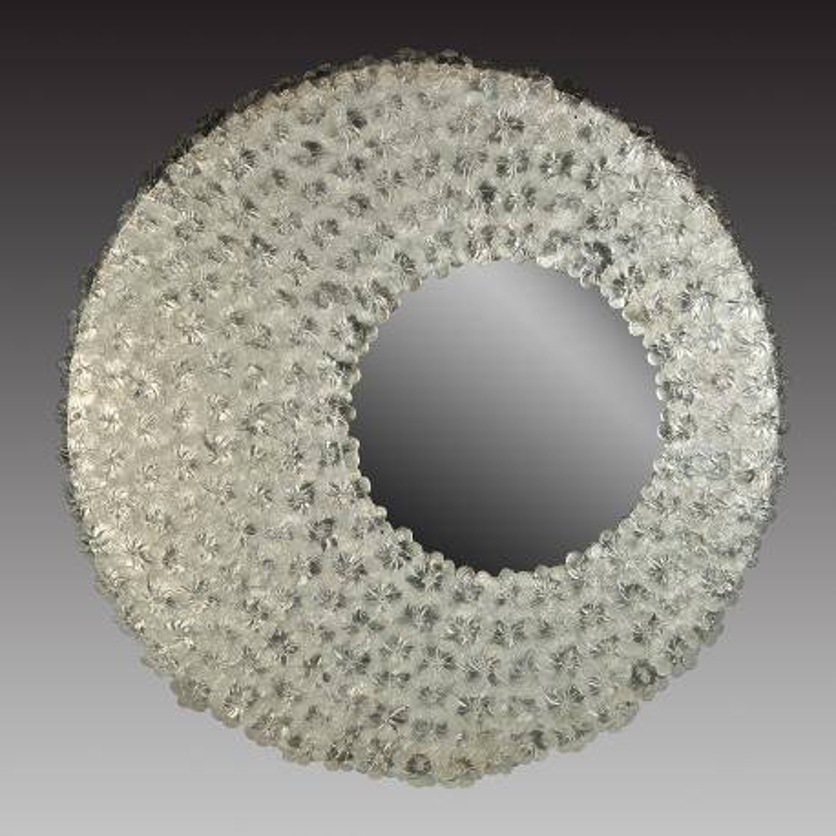 """""""Luna"""" espejo veneciano de cristal de Murano"""