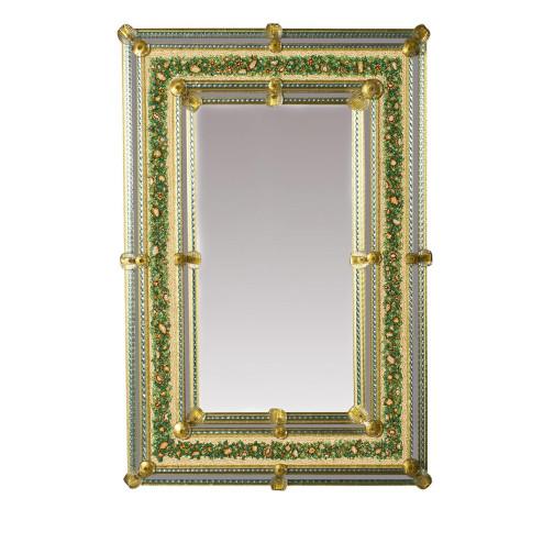 """""""Nicole """" miroir vénitien en verre de Murano"""