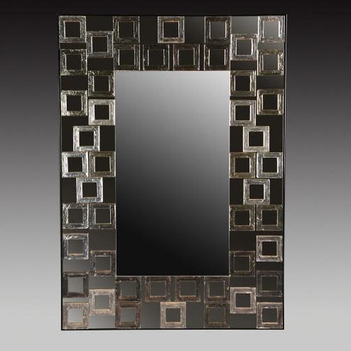 """""""Evangelina """" espejo veneciano de cristal de Murano"""