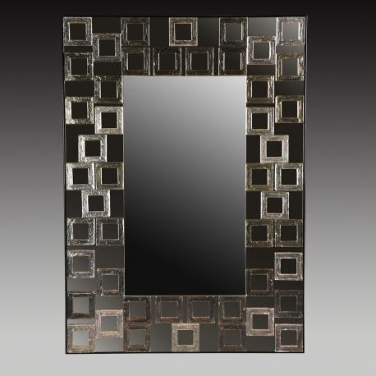 """""""Evangelina """" miroir vénitien en verre de Murano"""