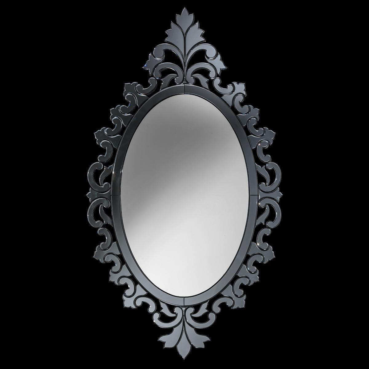 """""""Favola"""" espejo veneciano de cristal de Murano"""