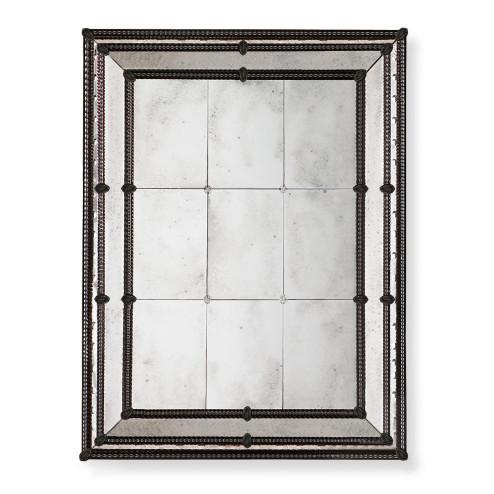 """""""Veronica"""" espejo veneciano de cristal de Murano"""