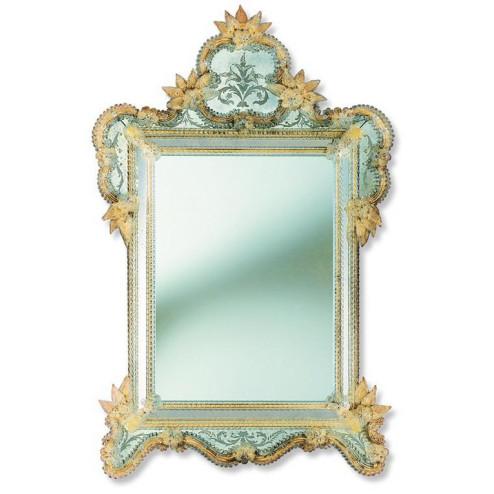 """""""Veridiana"""" Murano glass venetian mirror"""