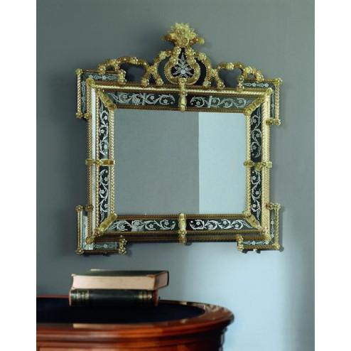 """""""Elora"""" Murano glass venetian mirror"""