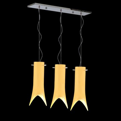"""""""Abbey"""" lámpara colgante en cristal de Murano"""