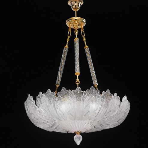"""""""Oliviera"""" lámpara colgante en cristal de Murano"""