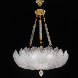 """Oliviera"" suspension en verre de Murano"