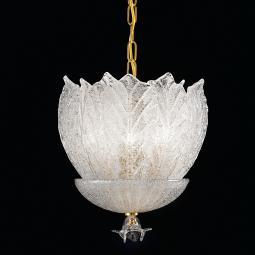 """Luigia"" Murano glass pendant light"