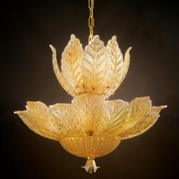 """Danila"" Murano glass pendant light"