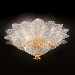 """Samanta"" Murano glass ceiling light"