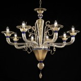 """Cannaregio"" Murano glass chandelier"
