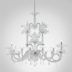 """Chandra "" Murano glass chandelier"