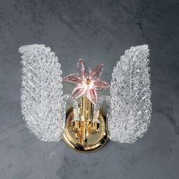 """Fiordaliso"" Murano glass sconce"