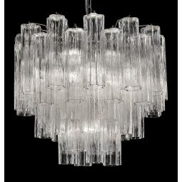 """Holly"" large Murano glass chandelier"