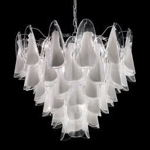 """Lauryn"" lustre en cristal de Murano"
