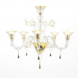 """Osiride"" Murano glass chandelier"
