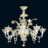 """Divina"" Murano glass chandelier"