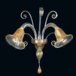 """Karlyn"" Murano glass sconce"