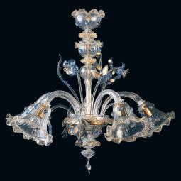 """Bessie"" Murano glass chandelier"