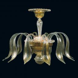 """Jeannetta"" Murano glass ceiling light"