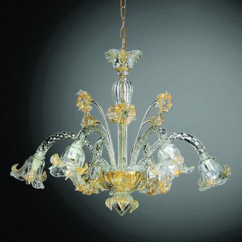 """""""Flora"""" araña de cristal de Murano"""