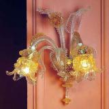 """Ellesse"" Murano glass sconce"