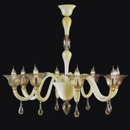 """Jaye"" Murano glass chandelier"