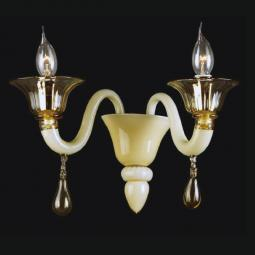 """Jaye"" Murano glass sconce"