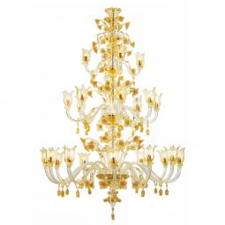 """Stevie"" Murano glass chandelier"