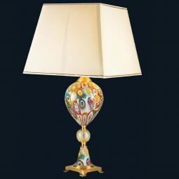 """Giselle"" Murano glass table lamp"