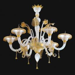 """Siyana"" Murano glass chandelier"