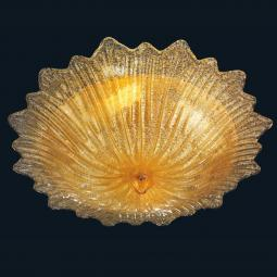 """Camille"" Murano glass ceiling light"