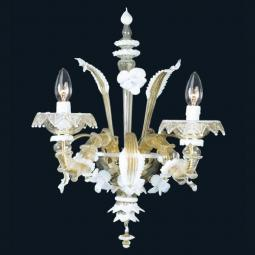 """Sierra"" Murano glass sconce"
