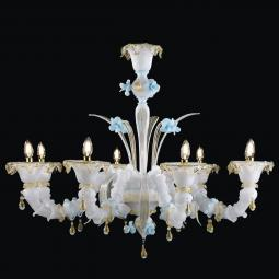 """Leja"" Murano glass chandelier"
