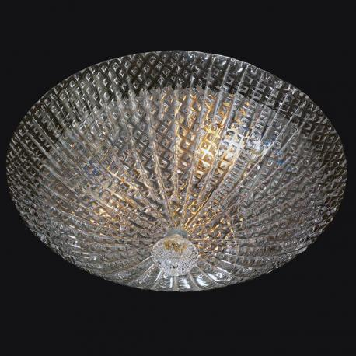 """""""Cora"""" plafonnier en verre de Murano - 3 lumières -"""