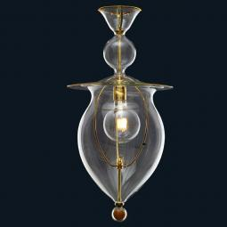 """Fiona"" Murano glass pendant light"