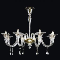 """Orla"" Murano glass chandelier"