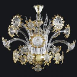 """Allegra"" Murano glass chandelier"