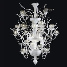 """Dakota"" Murano glass chandelier"