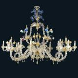 """Rea"" Murano glass chandelier"