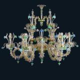 """Shannon"" Murano glass chandelier"