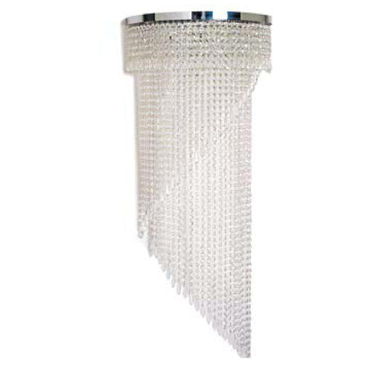 """Shelly"" applique en verre de Murano - 5 lumières - transparent"