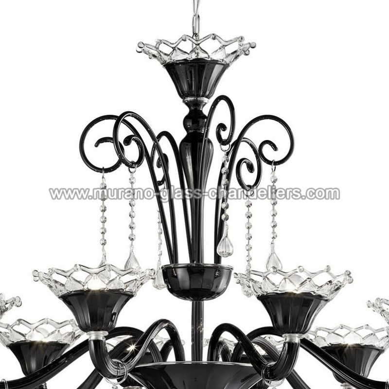 solenne murano glas kronleuchter murano glass chandeliers. Black Bedroom Furniture Sets. Home Design Ideas