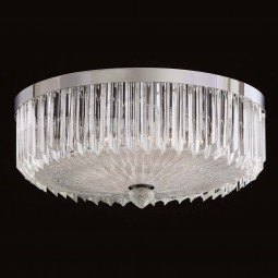 """Whitney"" Murano glass ceiling light"