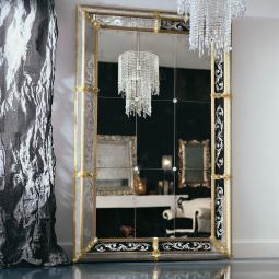 "Custom ""Odetta"" Murano glass venetian mirror"