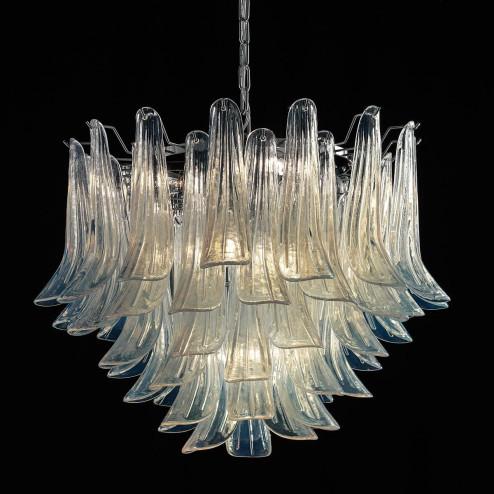 """""""Mildred"""" lustre en cristal de Murano"""